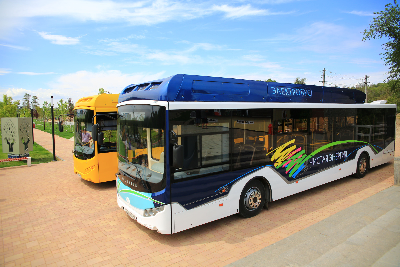 Представлен 1-ый волгоградский электрический автобус