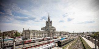 Железнодорожный вокзал Волгоград