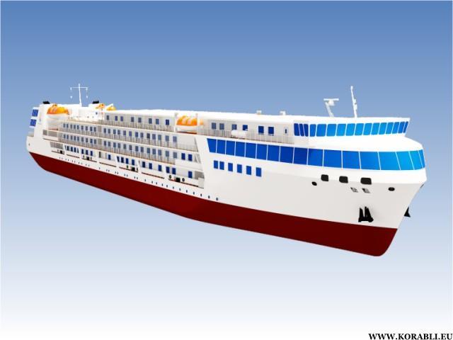 Морской круизный лайнер на300 пассажиров появится в Российской Федерации в 2019г