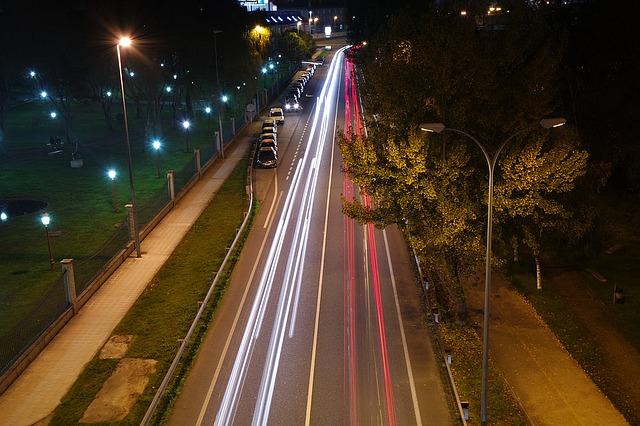 освещение, дороги