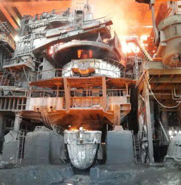 Красный Октябрь, электросталеплавильная печь, металлургия