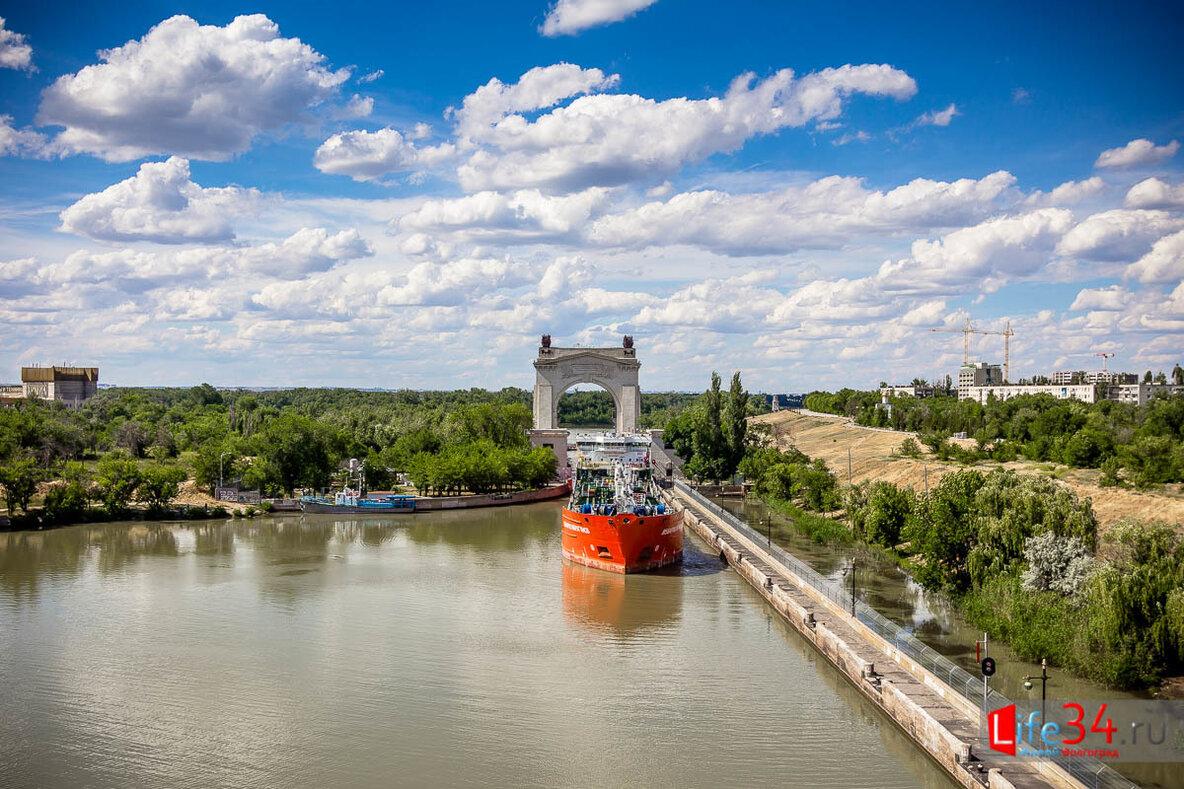 Волга-Донской судоходный канал