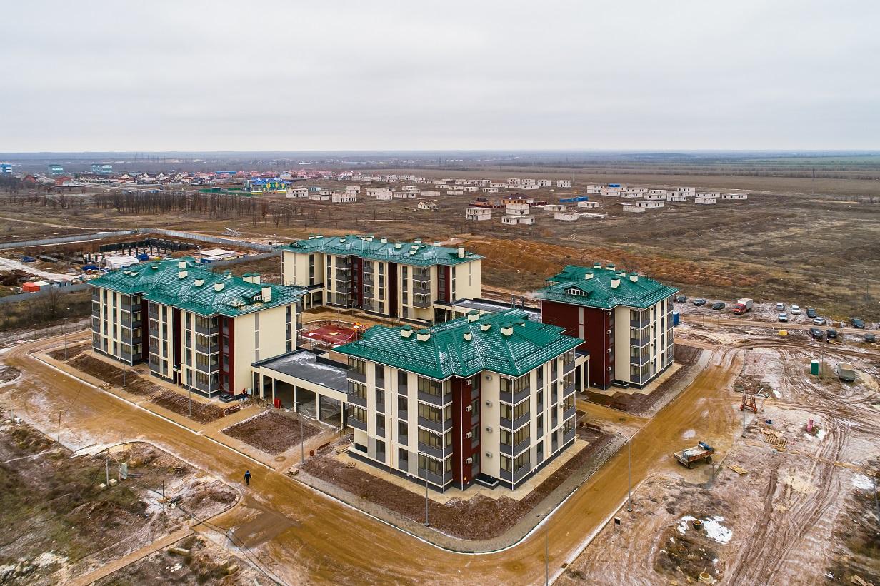 Жилой массив в Котельниково