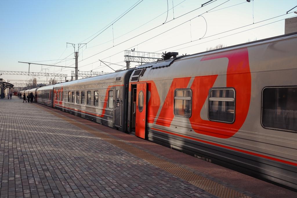 пассажирский вагон РЖД