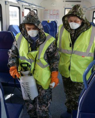 ПривЖД противоэпидемиологические меры в пригородных поездах
