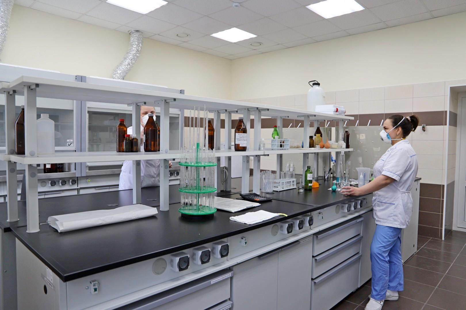 Волгоградский алюминиевый завод лаборатория