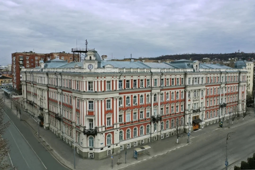 Здание ПривЖД в Саратове