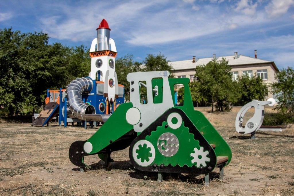 Детская площадка Ерзовка