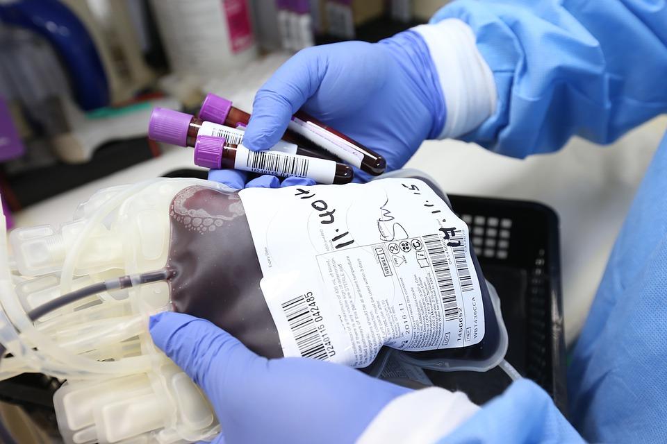 Донор плазмы крови