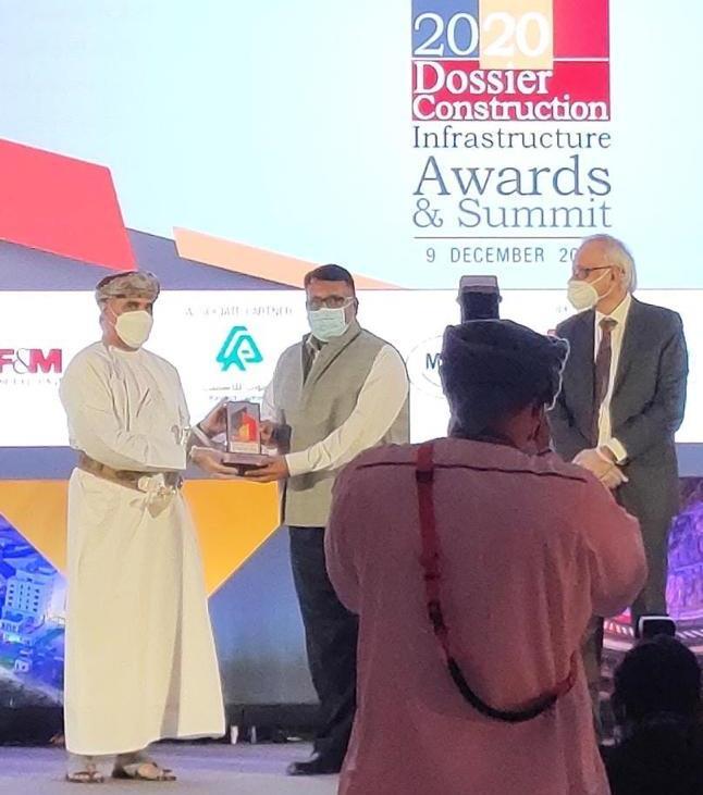 Броня награждение в Омане